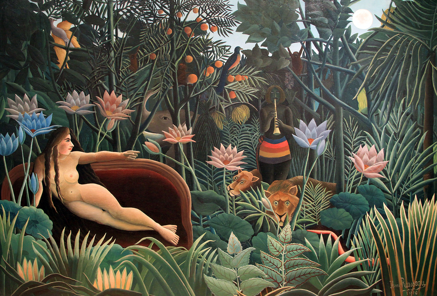 The Dream, by Henri Rousseau