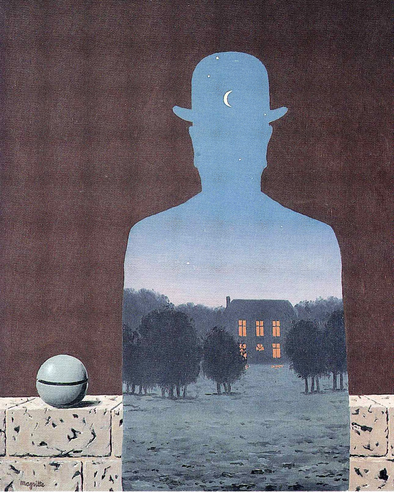 The Happy Donor by Magritte