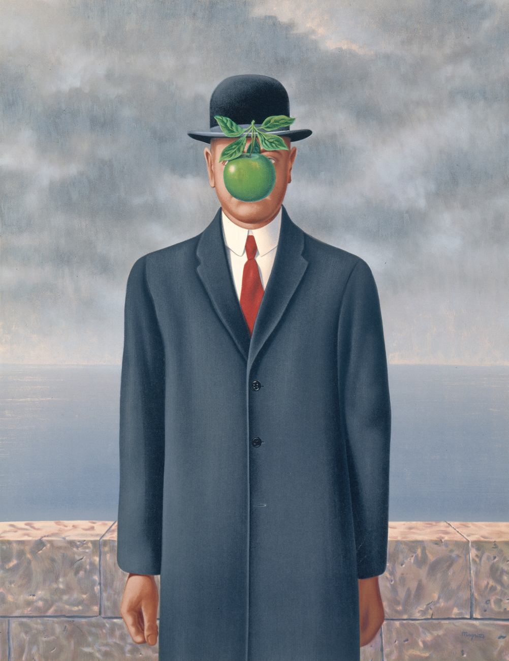 Son of Man, by René Magritte